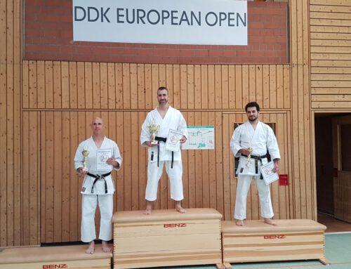 Erfolgreiche Karate-Kämpfer/-innen des Postsportverein e.V. Mainz in Haigerloch
