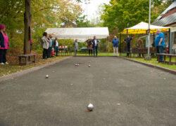 Premiere: Kleines Boule-Turnier nach dem offiziellen Teil der Feierlichkeiten